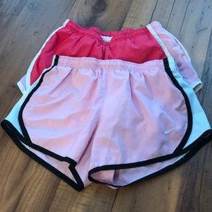 Juniors Dri-Fit Nike running shorts